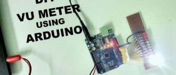 vu meter with arduino