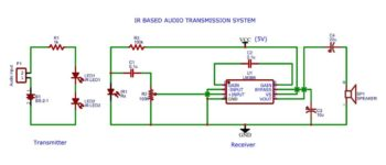 IR based Audio Transmission System