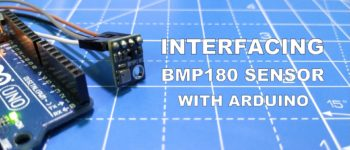 BMP180 Sensor Arduino Interface